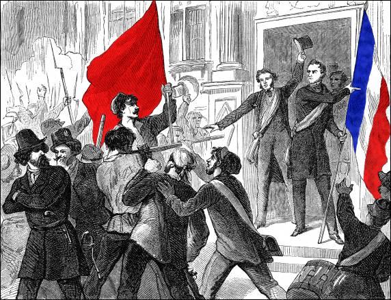 """Résultat de recherche d'images pour """"Lamartine drapeau rouge"""""""